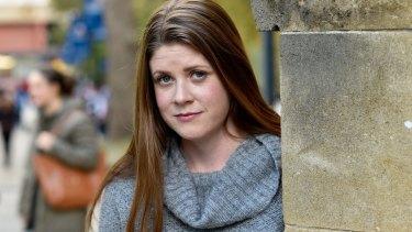'End Rape on Campus' founder Sharna Bremner.