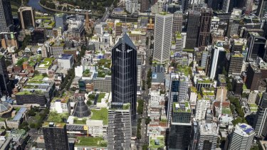 A rooftop project aims to show the potential for green roofs in the City of Melbourne.