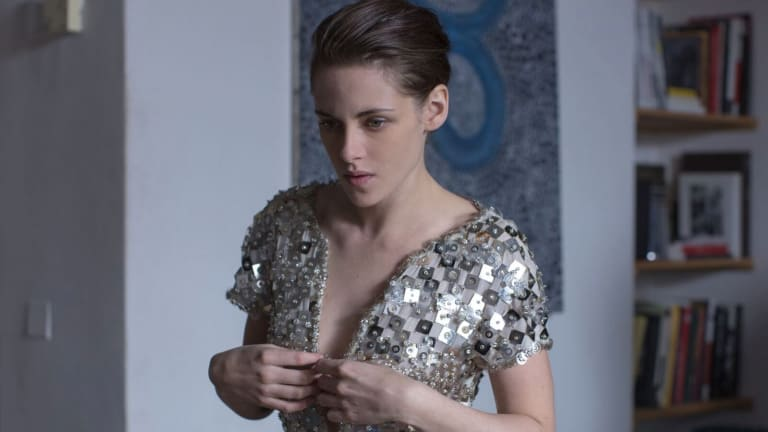 Hollywood actress Kristen Stewart plays a young American in Paris who seems to have the ability to communicate with spirits in Personal Shopper.