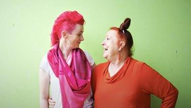 Lucy Perry, left, and Geraldine Cox of Sunrise Cambodia.