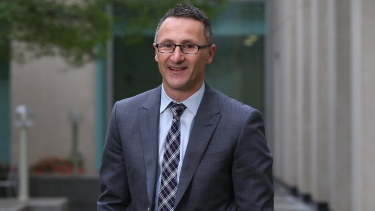 Greens leader Richard Di Natale has committed his party to the Senate changes.