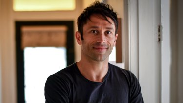 Wimmera author Mark Brandi: Winner of Debut Dagger at the British Crime Writers Association awards.