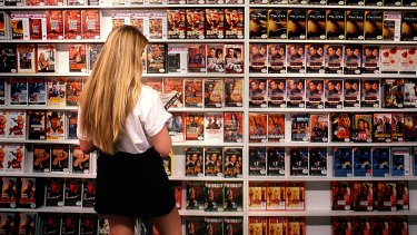 In the days before streaming services we spent ages picking out DVDs from video stores.