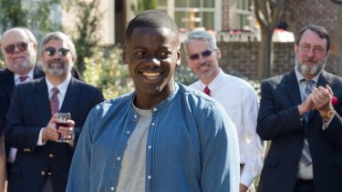 Chris (Daniel Kaluuya) was right to be worried as weird rich white people gather for a party in <i>Get Out</I>.