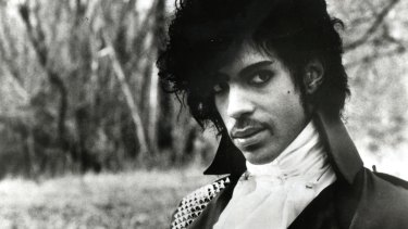 Prince, pictured here in 1984.