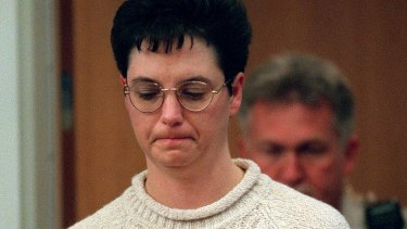 Kelly Gissendaner during her murder trial in 1998.
