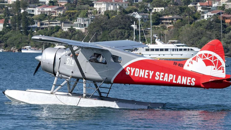 The Sydney Seaplanes aircraft plunged into Jerusalem Bay, north of Sydney. It remains underwater as authorities plan how best to recover it.
