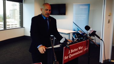 Shadow Treasurer Curtis Pitt unveils Labor's costings plan ahead of Saturday's election.