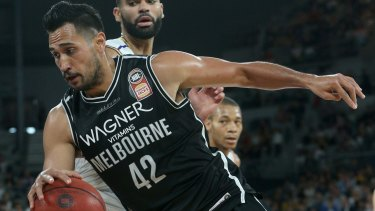 Tai Wesley would like to finish his career with Melbourne United.
