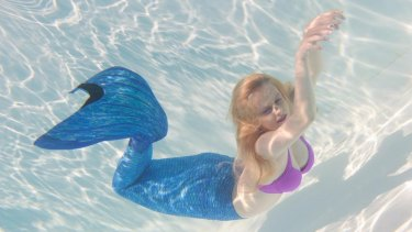 """NSW Fair Trading and consumer group CHOICE have warned about the dangers of """"mermaid tails""""."""