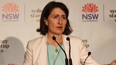 Not adding up: NSW Premier Gladys Berejiklian.