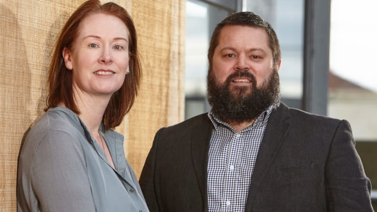 Business opportunity: Julie Bray and Brad Kazazes of Konnective.