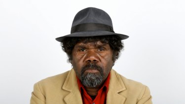 Man of few words:  Frank Yamma doesn't have a lot to say.