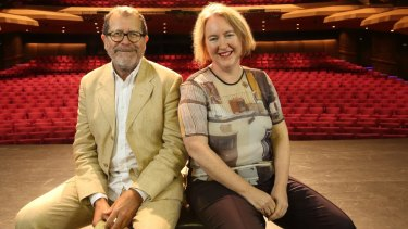 Adelaide Festival co-directors Neil Armfield and Rachel Healy.