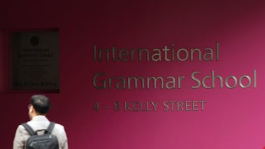 The International Grammar School in Ultimo.