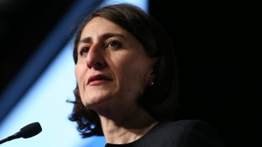 Gladys Berejiklian is the only confirmed candidate to succeed Mike Baird.
