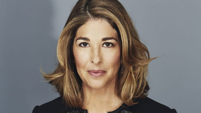 For the Sydney Peace Prize Exclusive Announcement- Photo of Naomi Klein credit is: Kourosh Keshiri