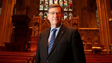 """""""The bombardment, both subtle and not so subtle, is relentless"""": Anglican Archbishop of Sydney, Dr Glenn Davies."""