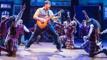 A scene from School Of Rock.