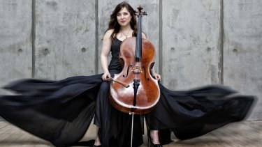 Alisa Weilerstein, US classical cellist, playing selected works with Sydney Symphony in 2016.