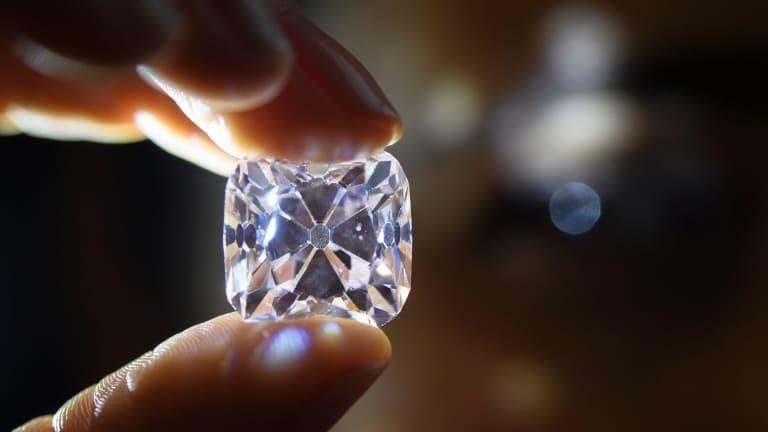 Polished diamond was one of the worst-performing commodities in 2017.