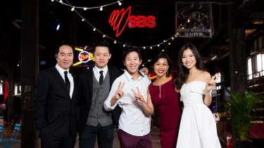 <i>The Family Law</i> is back for a second season. The cast (from left) Anthony Brandon Wong, George Zhao, Trystan Go, Fiona Choi and Shuang Hu.