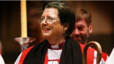 Barbara Darling at her consecration as bishop at Saint Paul's Cathedral in May 2008.
