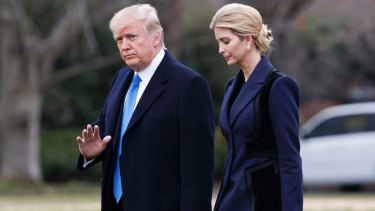 Ivanka has been by her father's side since the election.