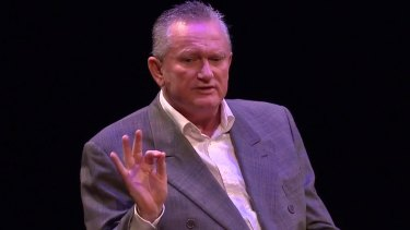 Sports scientist Stephen Dank was made bankrupt after being served with legal proceedings at the Sydney Opera House.