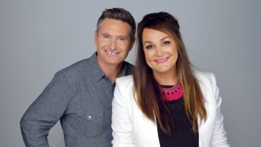 "Dave ""Hughesy"" Hughes and Kate Langbroek have switched networks."