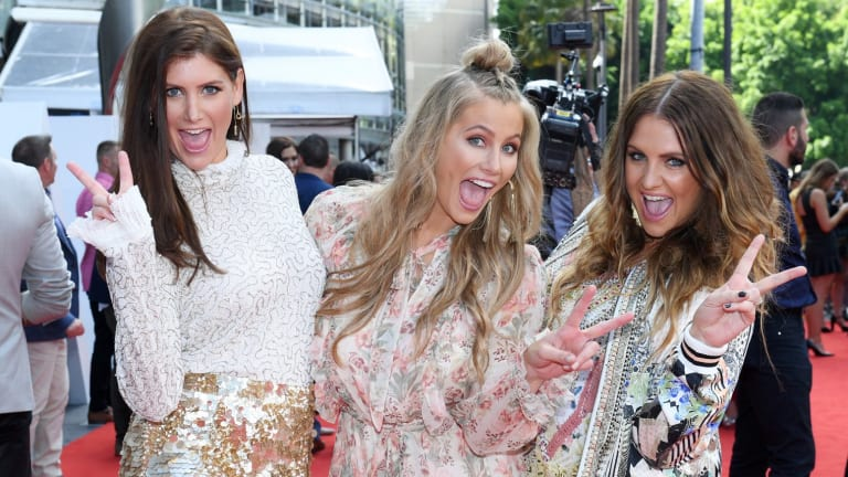 Reason to smile: The McClymonts Sisters.