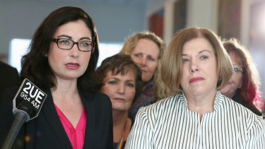 United for a common cause: Labor MP Terri Butler and Liberal MP Teresa Gambaro have co-sponsored a marriage equality bill in Federal Parliament.