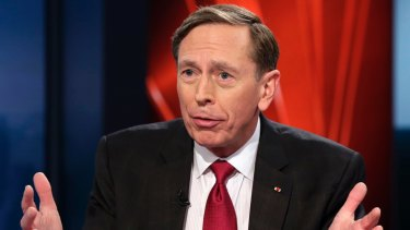 """""""The only response can be 'yes, Mr President'"""": former CIA director David Petraeus."""
