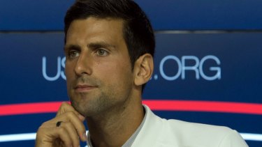Reigning US Open men's champion Novak Djokovic has had turbulent times recently.