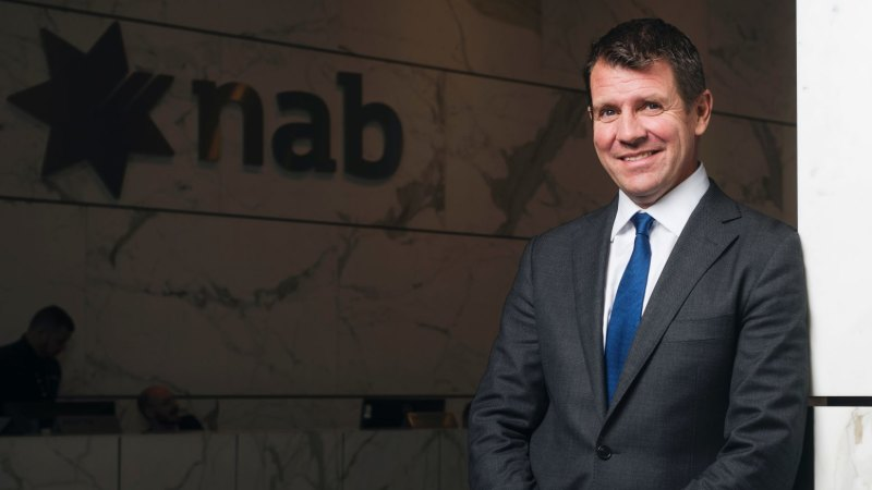 Former NSW premier Mike Baird paid $887,000 for first six months at NAB