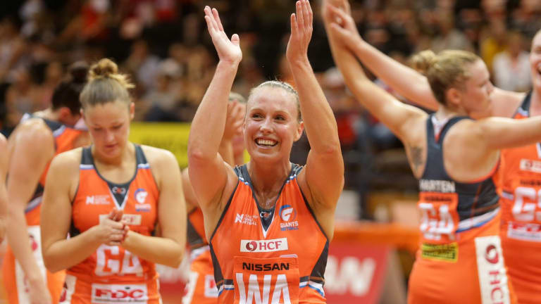 Round of applause: Suncorp Super Netball has attracted excellent ratings and crowds.