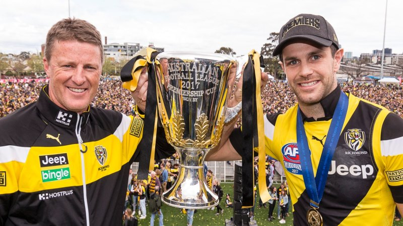 AFL grand final: Richmond Tigers fans finally able to cheer a