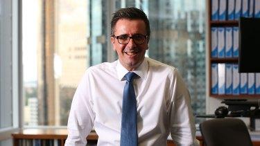 Enjoying a super quarter: QSuper CEO Michael Pennisi.