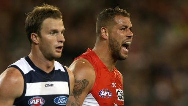 Geelong's Lachie Henderson is battling an knee injury and is still not fit.