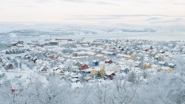 Accusations that a retired border inspector was spying have jolted Kirkenes, Norway.