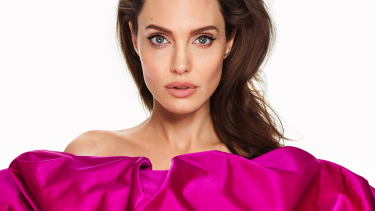 Angelina Jolie covers Elle Magazine for their March 2018 issue.