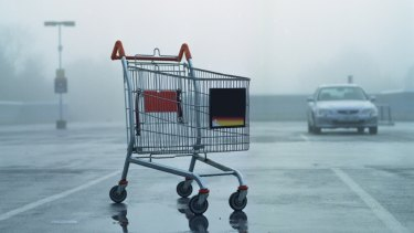 Customers don't want big trolleys, preferring shallow ones as they shop more often. But nobody wants to have one with wobbly wheels.