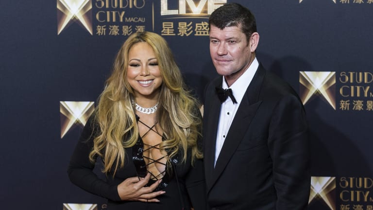 Friends report that Mariah, who is reportedly set to get married to Packer in Tahiti any time between now and June, though the tropical paradise is the latest in a long line of potential venues named around the globe, has been expressing her concerns over James' constant smoking.