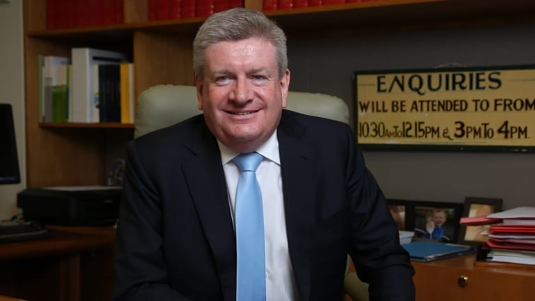 """""""I see it very much as an economic portfolio,"""" Mitch Fifield says of his new role as Communications Minister."""
