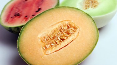 Rockmelons have been linked to an increase in reported salmonella cases in Australia.