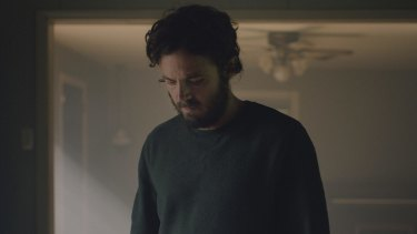 Casey Affleck in <i>A Ghost Story</i>.