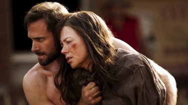 Missed out: Nicole Kidman and Joseph Fiennes in <i>Strangerland.</i>