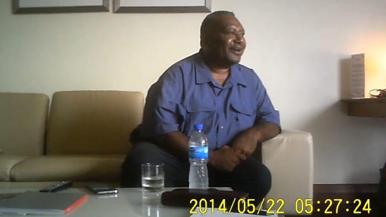 Papua New Guinea lawyer Harvey Maladina.