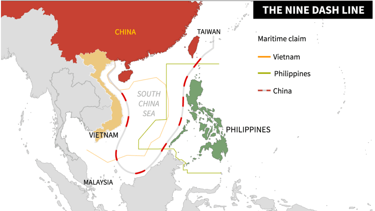 South China Sea.