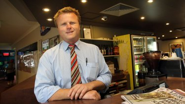 Dan O'Hara, pictured in 2012, has applied to increase Fairfield Hotel's poker machine threshold from 23 to 30 machines.